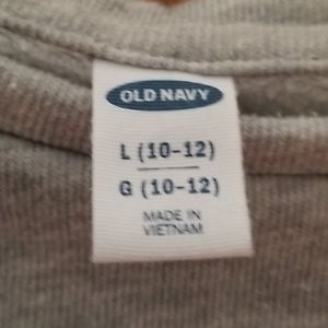 Old Navy Shirts & Tops - Old Navy girls sweatshirt size L